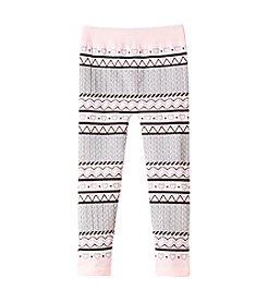 Squeeze® Girls' 2T-6X Heart Fair Isle Leggings