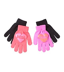 Miss Attitude Girls' 2-Pack Best Friends Magic Mittens