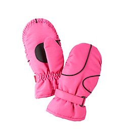 Miss Attitude Girls' Ski Mittens with Piping