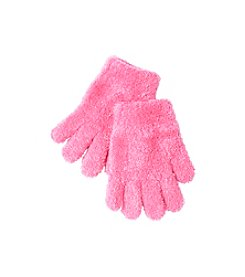 Miss Attitude Girls' 4-16 Knit Eyelash Gloves