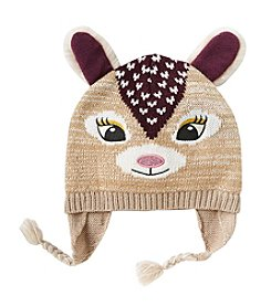 Miss Attitude Girls' 4-16 Deer Hat