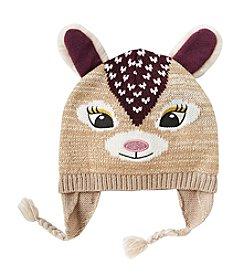 Miss Attitude Girls' 4-16 Deer Hat