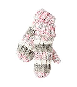 Miss Attitude Girls' 4-16 Popcorn Knit Mittens