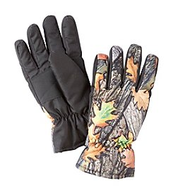 Statements Boys' 4-18 Fall Leaves Camo Ski Gloves