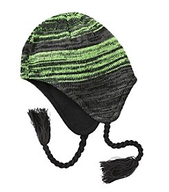 Statements Boys' 4-18 Twist Knit Peruvian Hat