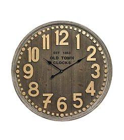 Ruff Hewn® Wooden Wall Clock
