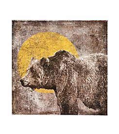 Ruff Hewn Lone Bear Canvas