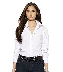 Lauren Ralph Lauren® Petites' Cotton Poplin Shirt