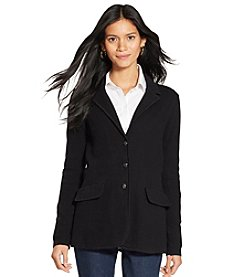 Lauren Ralph Lauren® Petites' Cotton Sweater Blazer
