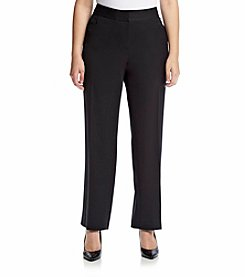 Rafaella® Plus Size Gab Curvy Fit Pants