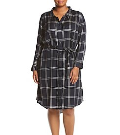 Lucky Brand® Plus Size Bungalow Plaid Dress