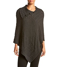 Eight Eight Eight Asymmetrical Poncho