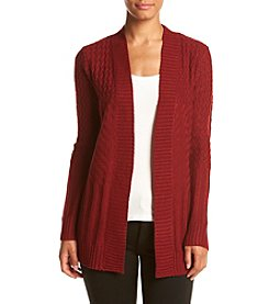Cupio Open Front Coat Cardigan