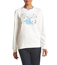 Breckenridge® Quiet Creek Embellished Fleece