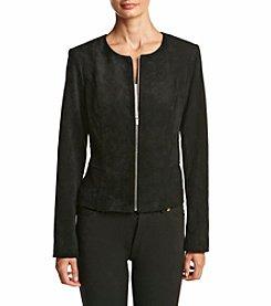 Calvin Klein ® Faux Suede Jacket