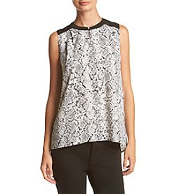 Calvin Klein ® Snake Print Blouse