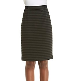 Nine West® Pencil Ponte Skirt