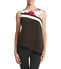 Calvin Klein Angle Hem Tunic Top