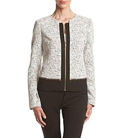 Calvin Klein Jaquard Ponte Jacket
