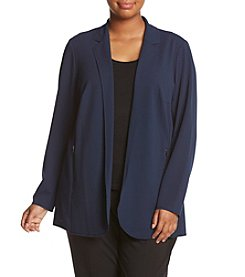 Ruff Hewn GREY Plus Size Soft Blazer