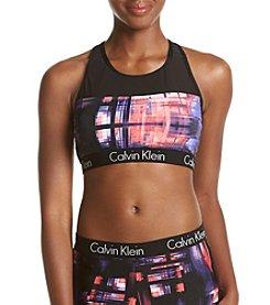 Calvin Klein Mesh Sports Bra Top