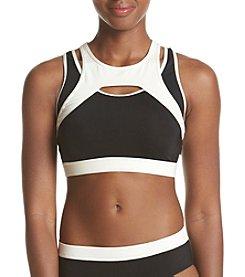 Calvin Klein Sporty Mesh Bikini Top