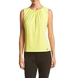 Calvin Klein Pleated Neck Cami