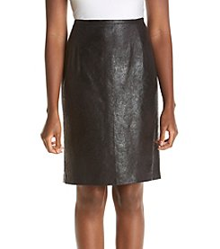 Calvin Klein Distressed Pencil Skirt