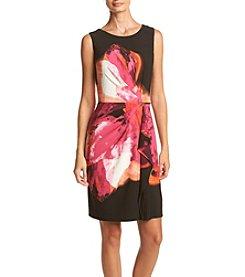 Calvin Klein ® Faux Wrap Dress