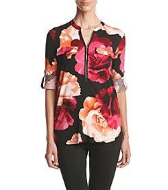 Calvin Klein ® Floral Knit Top