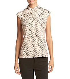 Calvin Klein High Neck Knit Top