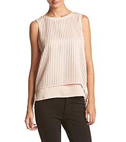 Calvin Klein ® Textured Blouse