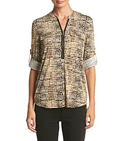 Calvin Klein ® Printed Tunic Top
