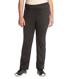 Exertek ® Plus Size Slim Bootcut Brushed Pants