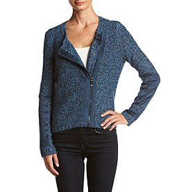 Jones New York® Curly Boucle Asymmetric Cardigan