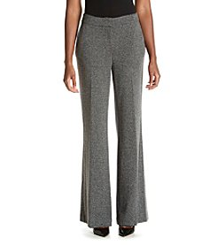 Jones New York® Herringbone Wide Leg Pants
