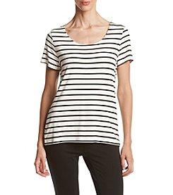 Calvin Klein ® Striped Jersey Tee