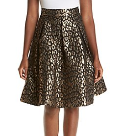 Eliza J® Printed Pleated Skirt