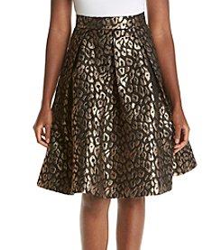Eliza J® Printed Pleated Skirt