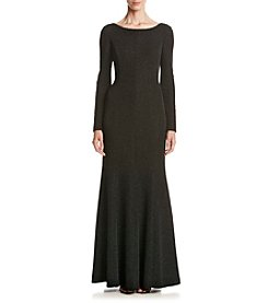Eliza J® Coat Neck Gown