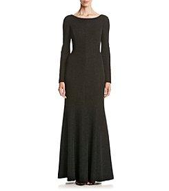 Eliza J® Coat Neck Gown