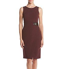 Ivanka Trump® Sheath Dress With Buckle