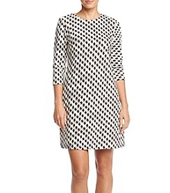 Taylor Dresses ® Printed Shift Dress