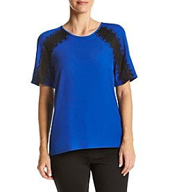 Calvin Klein ® Shoulder Lace Top