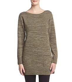 Eight Eight Eight Space Dye Boatneck Tunic