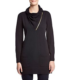 Eight Eight Eight Zip Neck Tunic