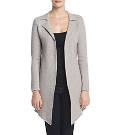 Ruff Hewn GREY Asymmetrical Hem Sweater Coat