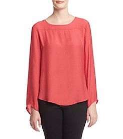 Philosophy by Republic Clothing Crew Neck Blouse