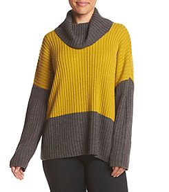 Jones New York® Plus Size Color Block Turtleneck