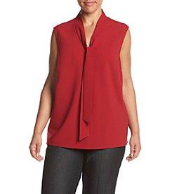 Kasper® Plus Size Drape Neck Cami